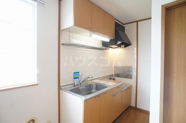ガーデンヒルズⅢ 01010号室のキッチン