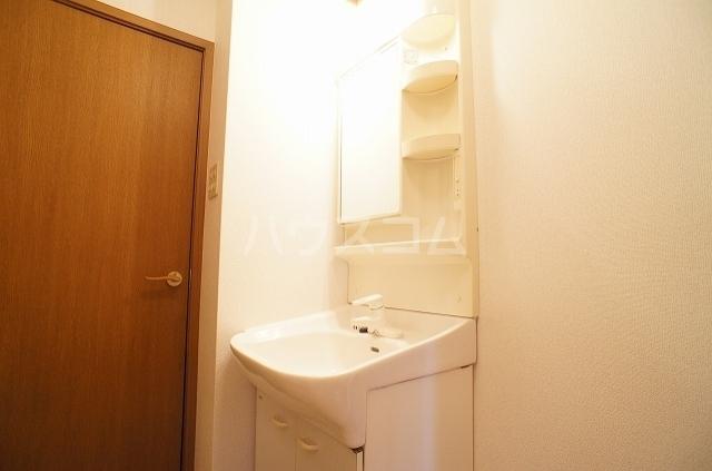 ガーデンヒルズⅢ 01010号室の洗面所