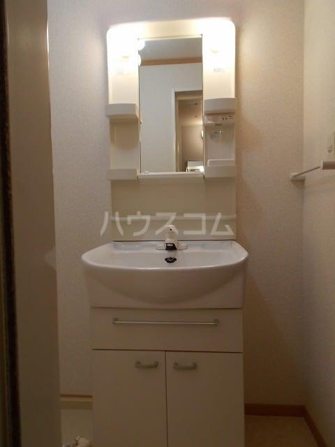 エスポワールB 01030号室の洗面所