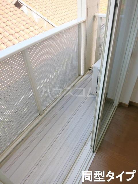 フィオーレⅡ 01010号室のバルコニー