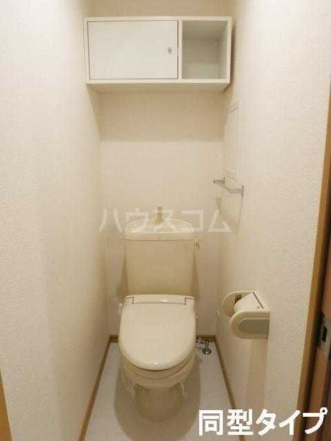 フィオーレⅡ 01010号室のトイレ