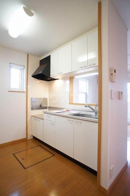 プリート・コルソB 01030号室のキッチン