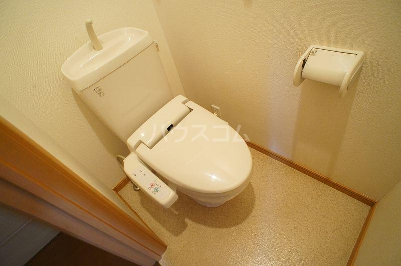 プリート・コルソB 01030号室のトイレ