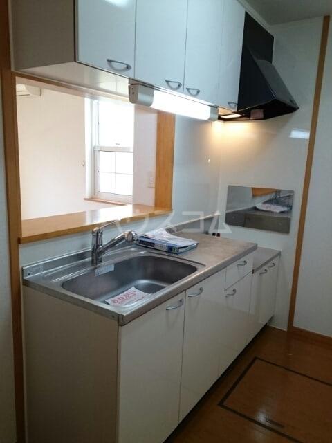 リヴ・プロムネイドB 01010号室のキッチン
