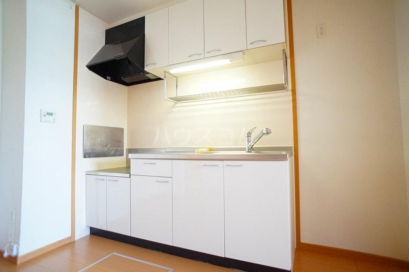 プロムナードB 01020号室のキッチン