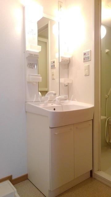プレ・アビタシオン春日部Ⅰ 01020号室の洗面所