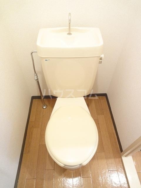 エルディム清水Ⅰ 01030号室のトイレ