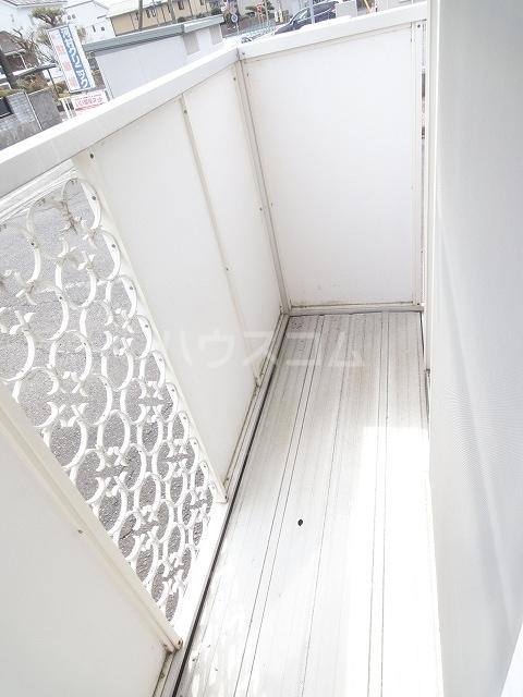 エルディム清水Ⅰ 01030号室のバルコニー