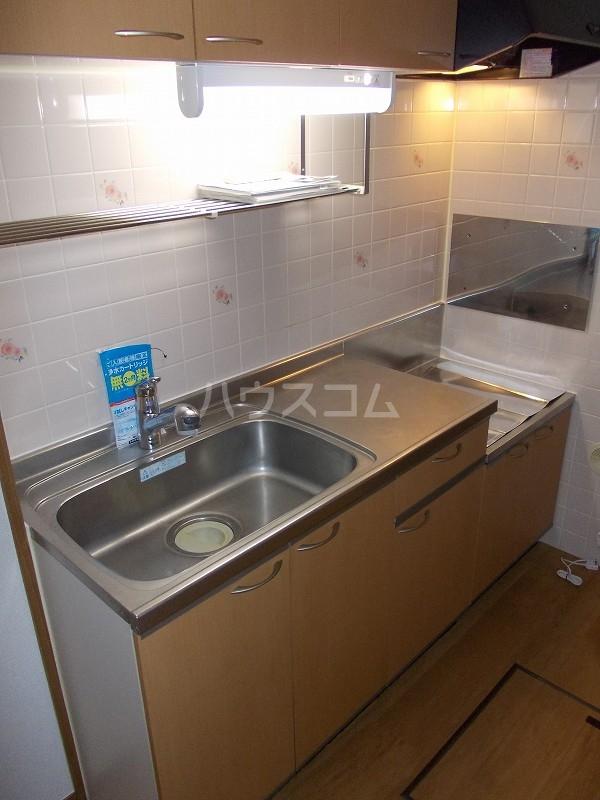エスポアールB棟 01010号室のキッチン