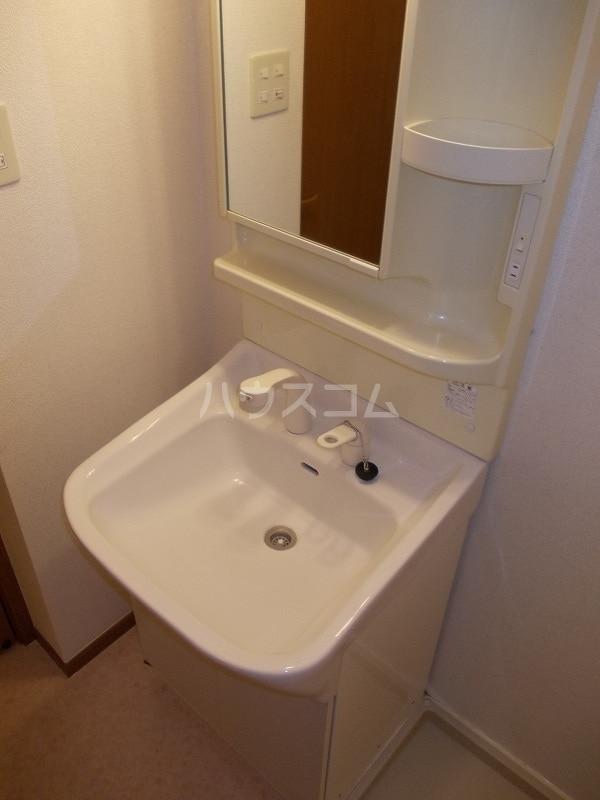エスポアールB棟 01010号室の洗面所
