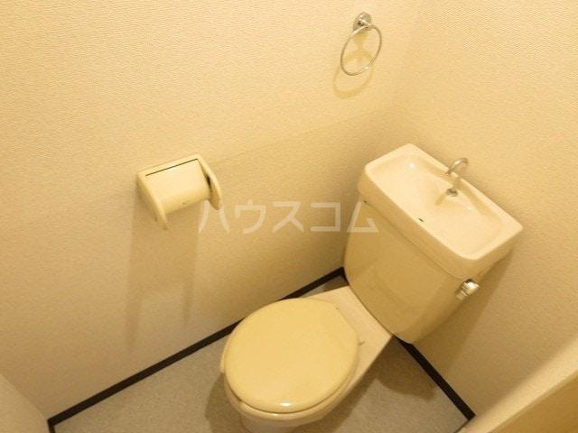 ニューシティ小林 02020号室のトイレ