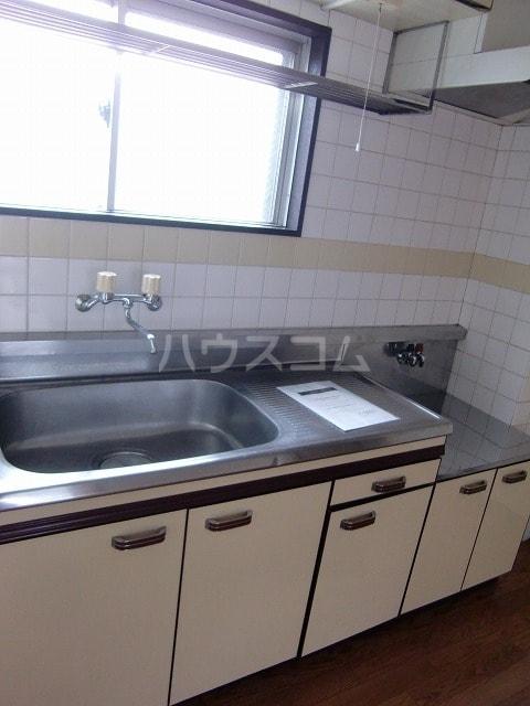 リバーサイドパレス 02010号室のキッチン