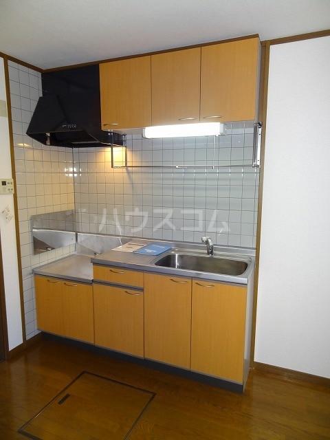 メゾン若山 01010号室のキッチン