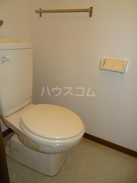 メゾン若山 01010号室のトイレ