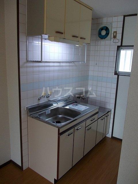 パークハイツ木藪 01030号室のキッチン