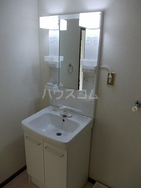 パークハイツ木藪 01030号室の洗面所