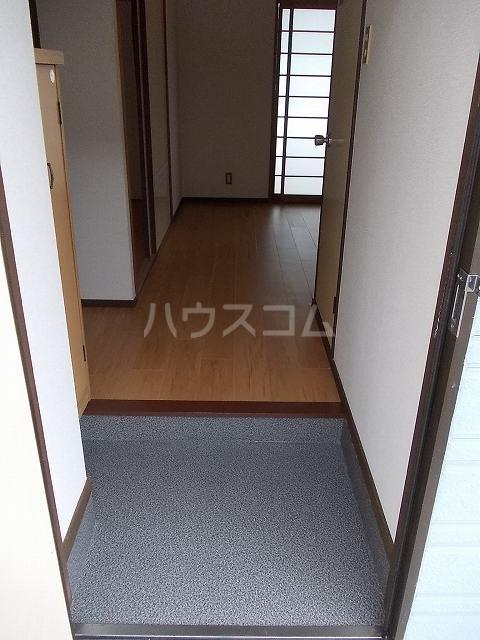 パークハイツ木藪 01030号室の玄関