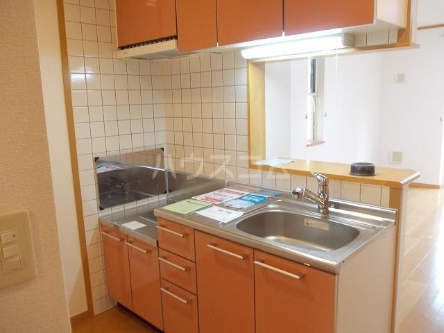 クロスロード 01010号室のキッチン