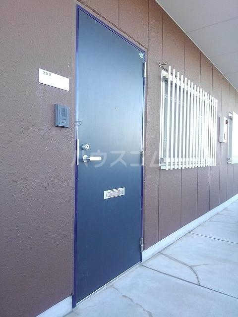 サンシティ豊川 02020号室のエントランス