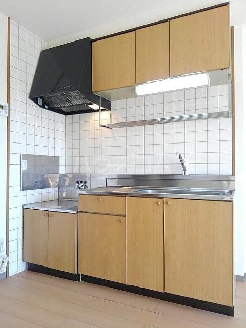 サンシティ豊川 02020号室のキッチン