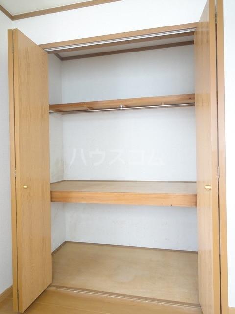 ロイヤルヒルズ 01020号室の収納