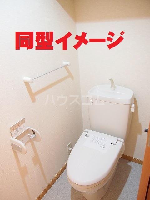 フラ-ズソムB 02030号室のトイレ