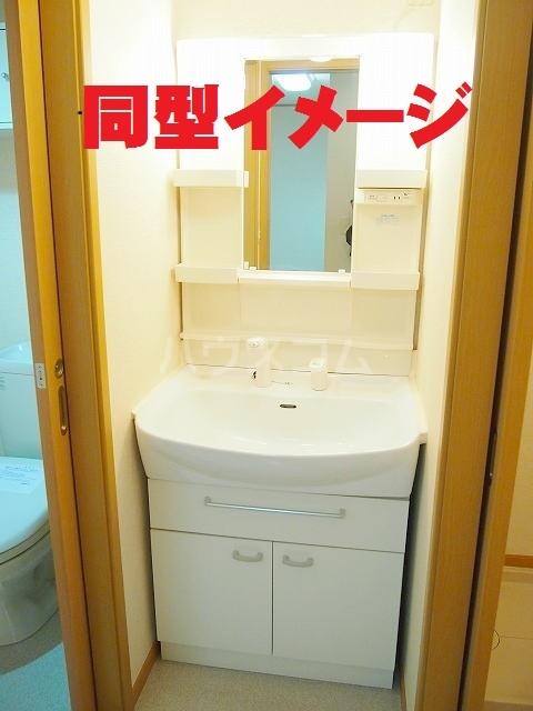 フラ-ズソムB 02030号室の洗面所