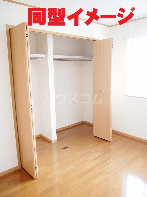 フラ-ズソムB 02030号室の収納
