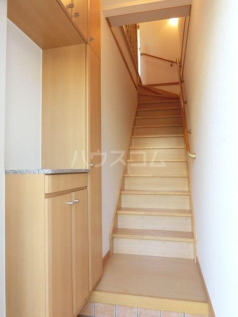 ポラリスⅡ 02030号室の玄関