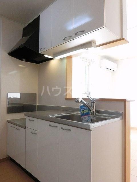 ポラリスⅡ 02030号室のキッチン