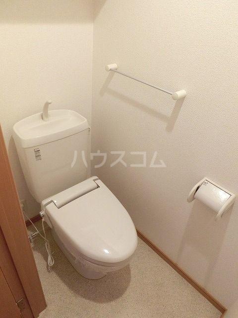 ポラリスⅡ 02030号室のトイレ