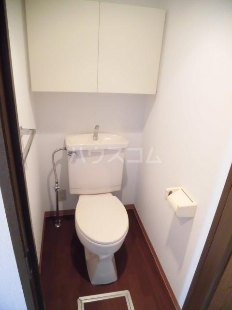 グリーンパーク船橋 910号室のトイレ