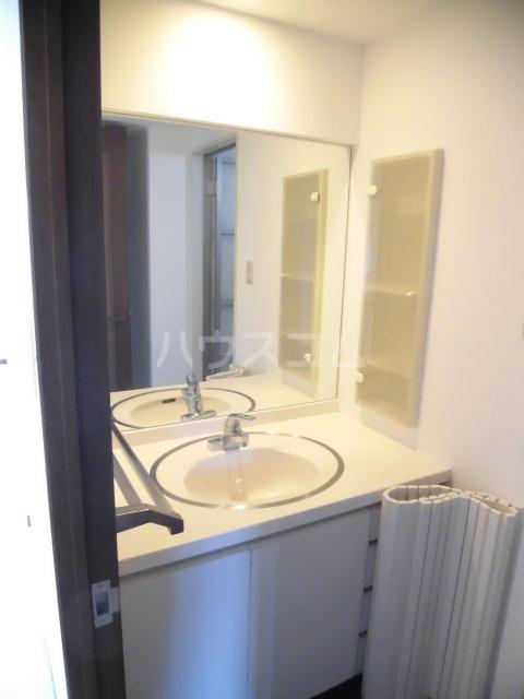 グリーンパーク船橋 910号室の洗面所