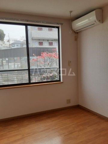 福山アパート 202号室のバルコニー