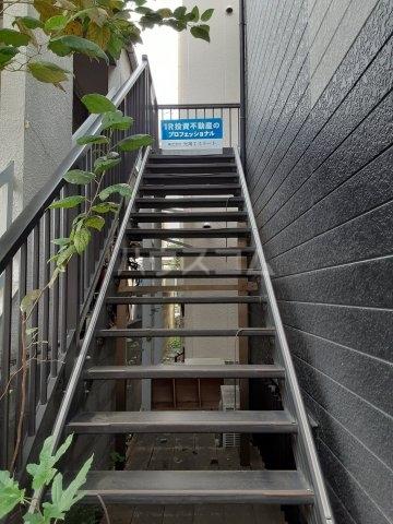 福山アパート 202号室のリビング