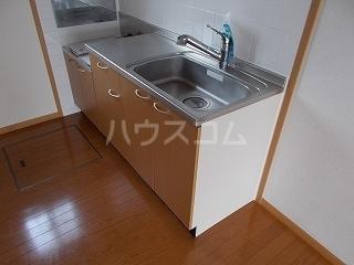 ソフィーシアA 01010号室のキッチン