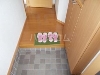 ソフィーシアA 01010号室の玄関