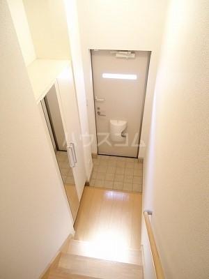 エレナメゾンB 02030号室の玄関