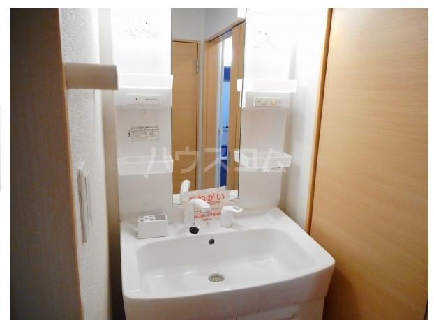 シャイニー 02020号室の洗面所
