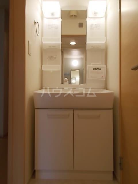 サン ブリッサ A 01040号室の洗面所