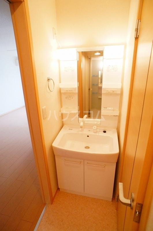 アルカンシェル Ⅱ 01030号室の洗面所