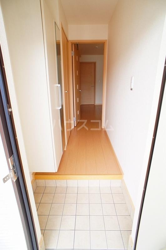 アルカンシェル Ⅱ 01030号室の玄関
