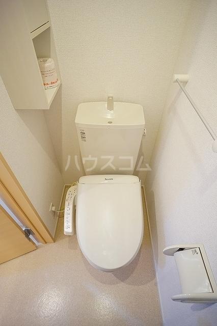 エレガンテ 01020号室のトイレ