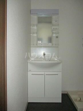 ルリオン助信 101号室の洗面所