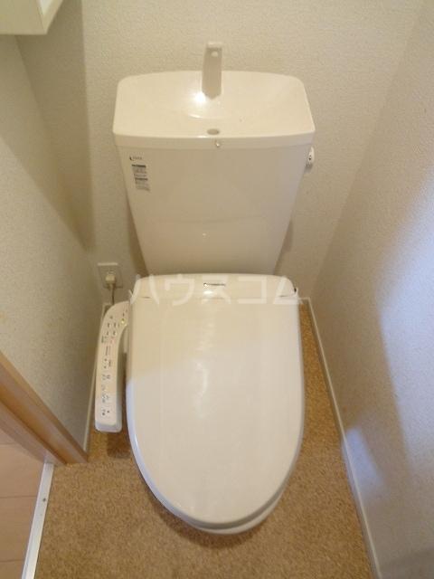 ハオスエーデルワイス Ⅲ 01020号室のトイレ