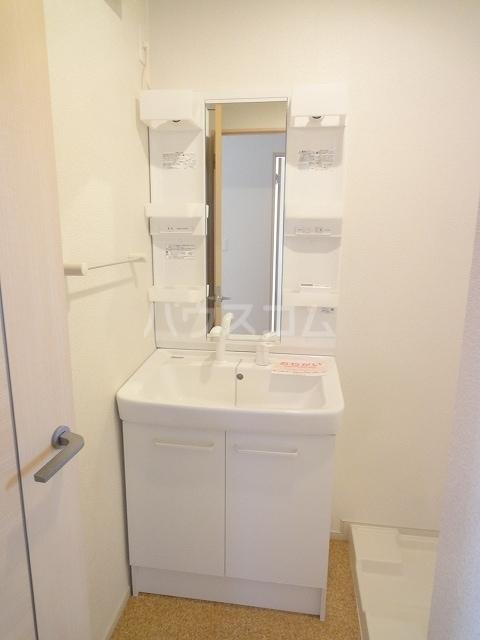 ハオスエーデルワイス Ⅲ 01020号室の洗面所
