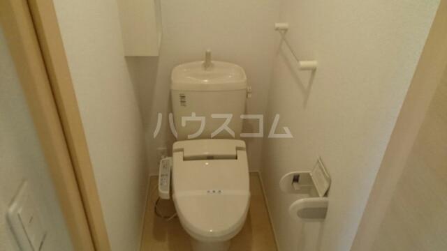 ヴィエラ 01020号室のトイレ