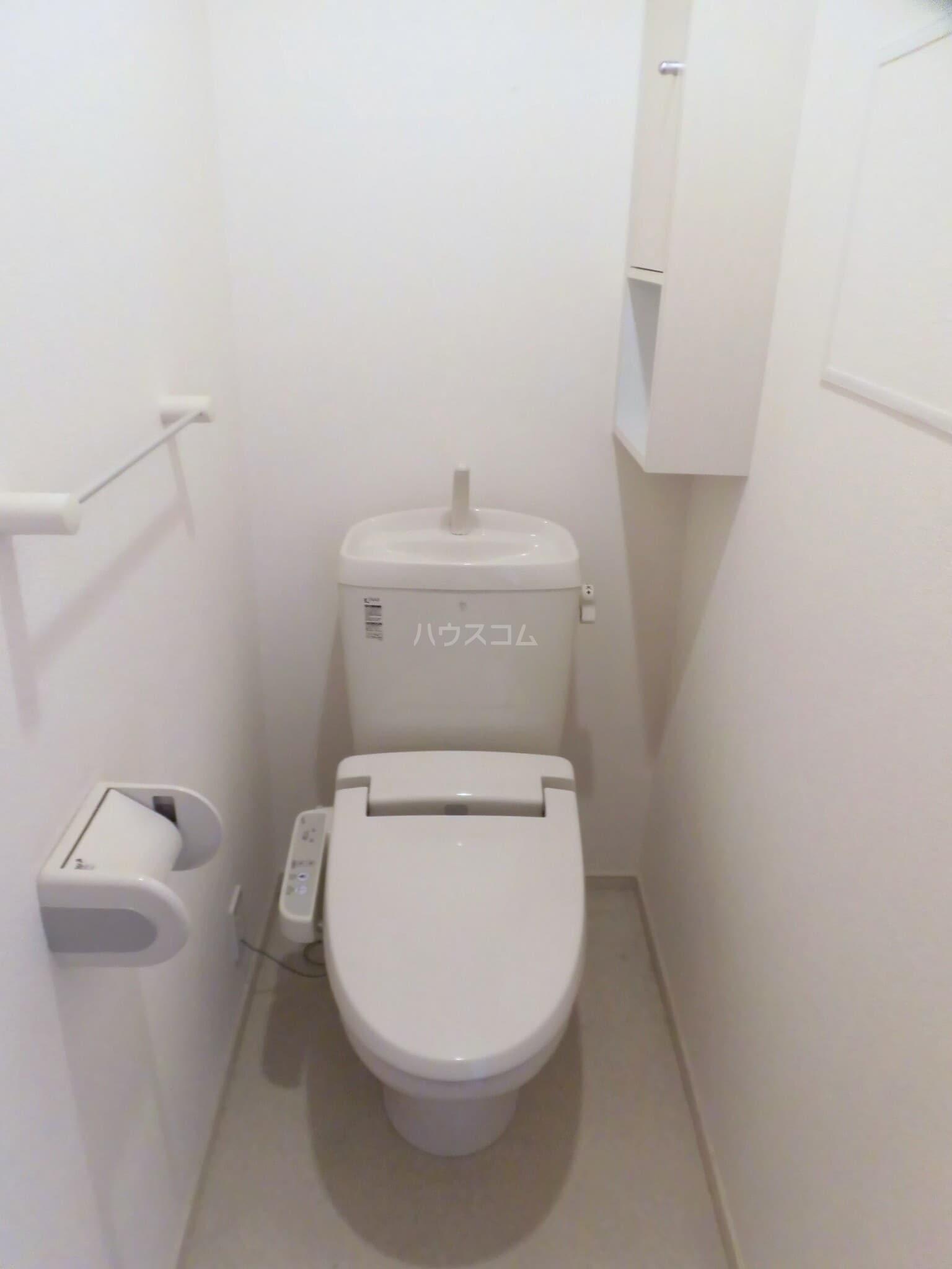 ベルクムント 02020号室のトイレ