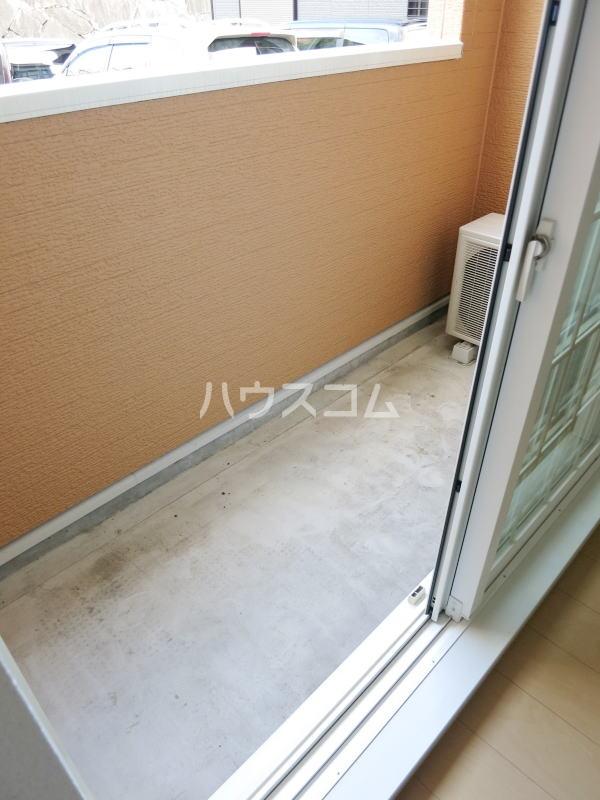 ラリック・ヒルB 01020号室のバルコニー