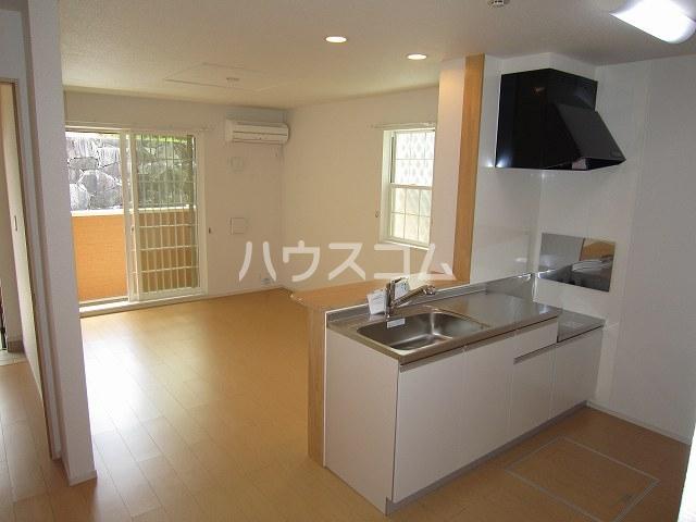 ラリック・ヒルB 01020号室のキッチン